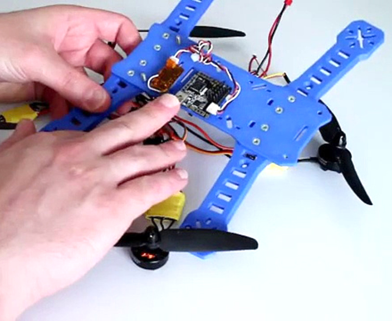 Drone Peon230 – Quadcopter printed using a 3D printer