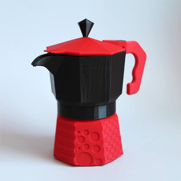 3D printed coffee machine, great stuff for coffee lovers!