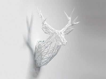 3d Printed Home Decor Stag 3d Printers Shop Blog